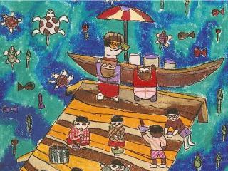 รางวัลดีเด่น ป.1-ป.3 ด.ช.ธีรวัฒน์ ธีรทีปวิวัฒน์ โรงเรียนวัดด่านสำโรง สมุทรปราการ
