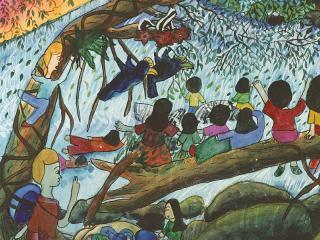 รางวัลดีเด่น ป.4-ป.6 ด.ญ.ธีรา ฤกษ์สวัสดิ์ โรงเรียนสอนศิลปะตึกน้ำ ชลบุรี