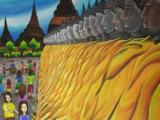 รางวัลยอดเยี่ยม ม.1 – ม.3 ด.ญ.ชนิดา สงวนเผ่า ชมรมศิลปะเด็กครูเป๊าะ 45 / 7 ถ.สุนทรสถิตย์ ต.อุทัยใหม่ อ.เมือง จ.อุทัยธานี 61000