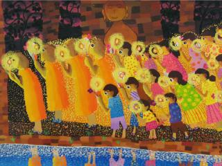 รางวัลดีเด่น ป.4 - ป.6 ด.ญ.ธันยพร สุขโต โรงเรียนอนุบาลนครสวรรค์ จ.นครสวรรค์
