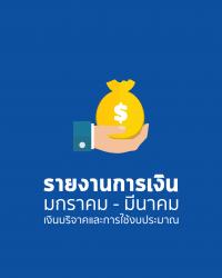 รายงานการเงินไตรมาส ที่ 1/2562