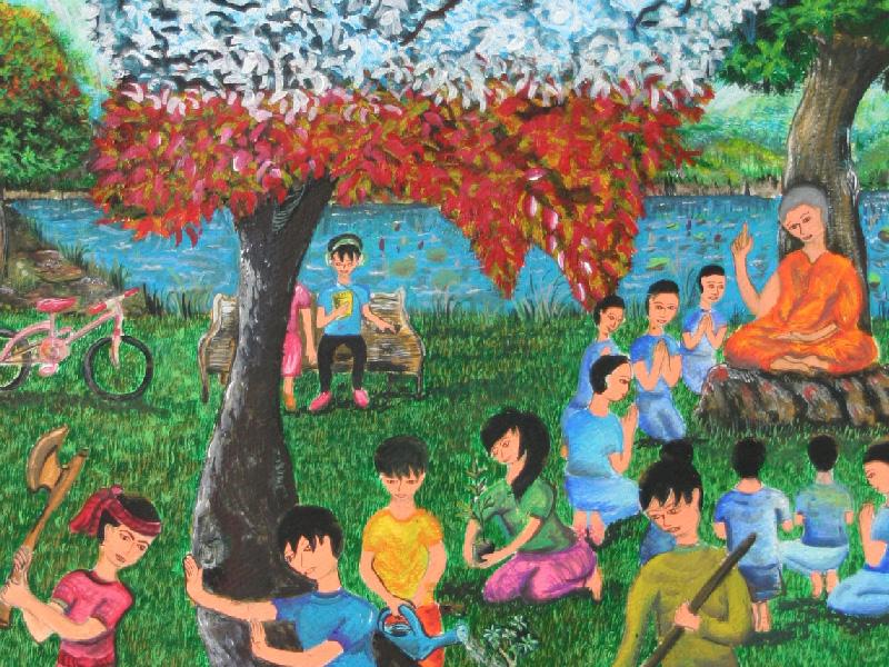 รางวัลดีเด่น ม.4 - 6 นายสุริยา ผาสุข โรงเรียนวิเชียรกลิ่นสุคนธ์อุปถัมภ์ จ.พระนครศรีอยุธยา